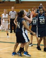 2179 Girls JV Basketball v NWChr 122010