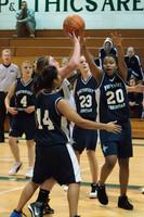 2180 Girls JV Basketball v NWChr 122010