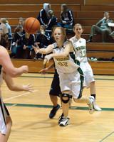 2214 Girls JV Basketball v NWChr 122010
