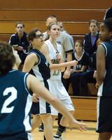 2224 Girls JV Basketball v NWChr 122010