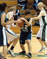2229 Girls JV Basketball v NWChr 122010