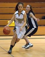 2310 Girls JV Basketball v NWChr 122010