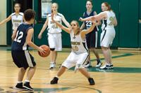 2360 Girls JV Basketball v NWChr 122010