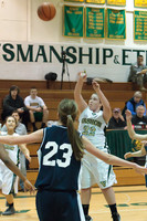 2454 Girls JV Basketball v NWChr 122010