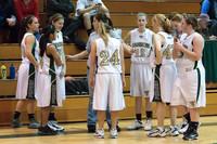 2503 Girls JV Basketball v NWChr 122010