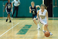 2510 Girls JV Basketball v NWChr 122010