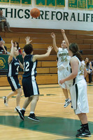 2526 Girls JV Basketball v NWChr 122010