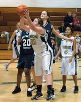 2658 Girls JV Basketball v NWChr 122010