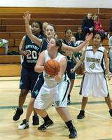 2660 Girls JV Basketball v NWChr 122010