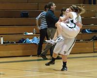 2892 Girls JV Basketball v NWChr 122010