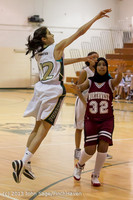 3108 Girls JV Basketball v NW-School 112812