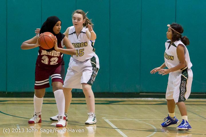 3112 Girls JV Basketball v NW-School 112812