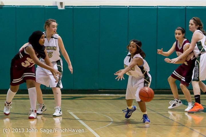 3115 Girls JV Basketball v NW-School 112812