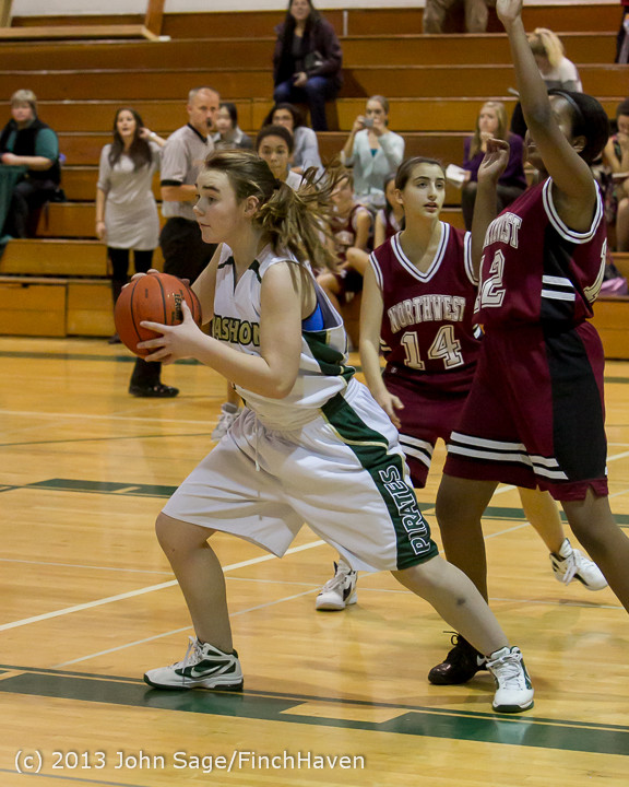 3127 Girls JV Basketball v NW-School 112812