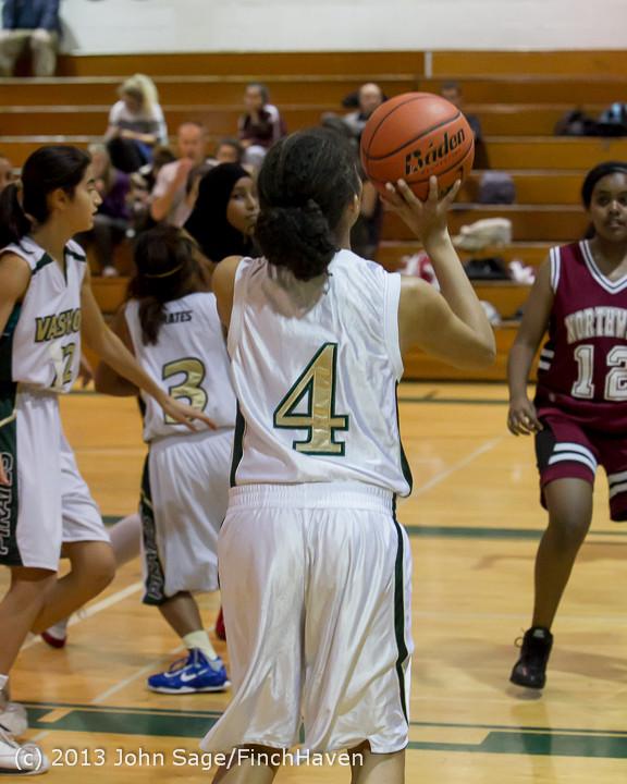 3142 Girls JV Basketball v NW-School 112812