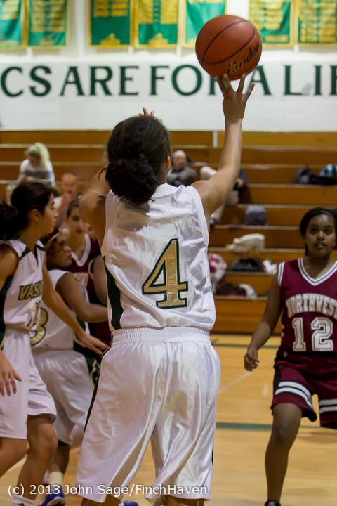 3143 Girls JV Basketball v NW-School 112812