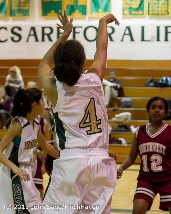 3144 Girls JV Basketball v NW-School 112812