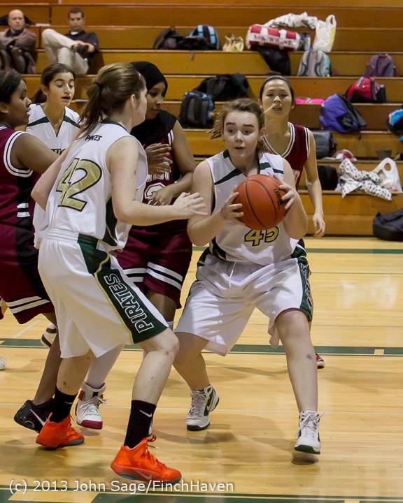 3158 Girls JV Basketball v NW-School 112812