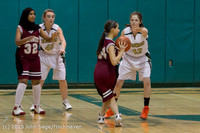 3225 Girls JV Basketball v NW-School 112812
