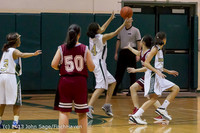 3232 Girls JV Basketball v NW-School 112812