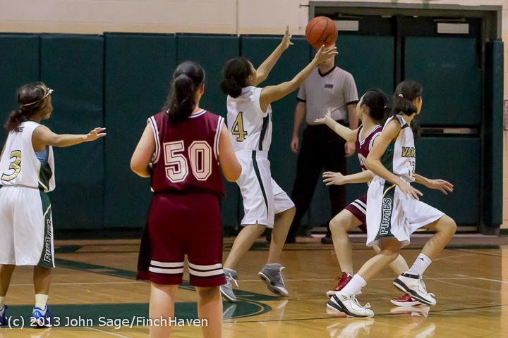 3232 Girls JV Basketball v NW-School 112812