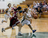3307 Girls JV Basketball v NW-School 112812