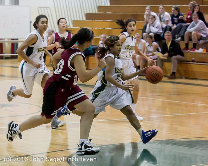 3307 Girls JV Basketball v NW-School 112812