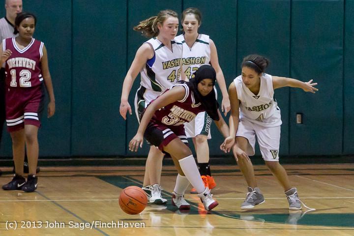 3376 Girls JV Basketball v NW-School 112812