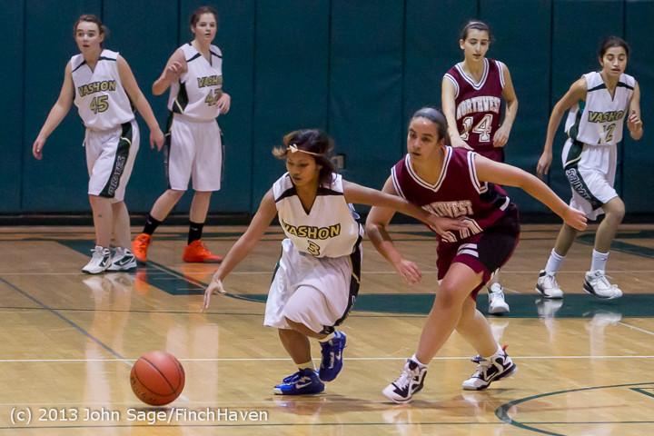 3382 Girls JV Basketball v NW-School 112812