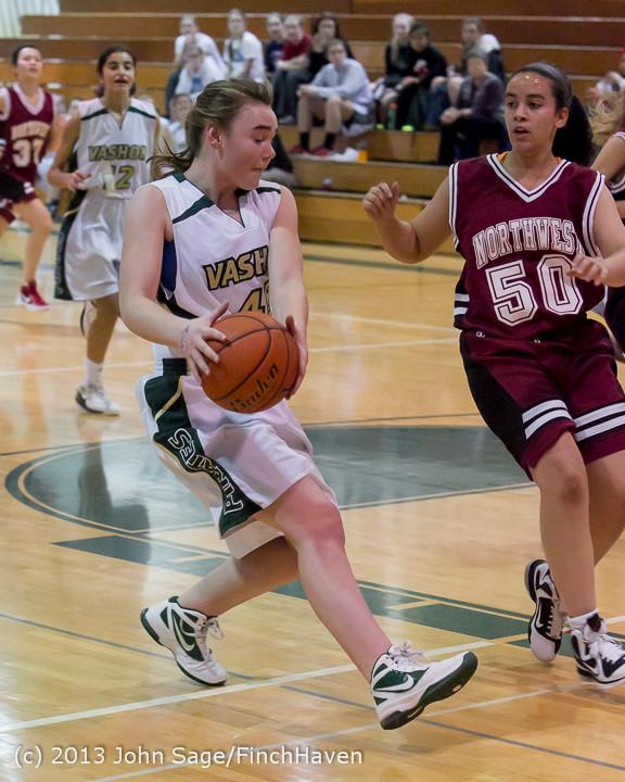 3465 Girls JV Basketball v NW-School 112812