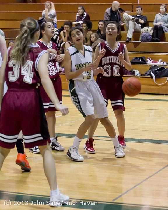 3497 Girls JV Basketball v NW-School 112812