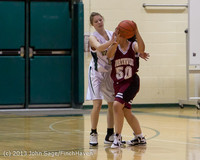 3520 Girls JV Basketball v NW-School 112812