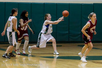 3645 Girls JV Basketball v NW-School 112812
