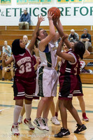 3703 Girls JV Basketball v NW-School 112812
