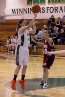 3738 Girls JV Basketball v NW-School 112812
