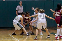 3806 Girls JV Basketball v NW-School 112812
