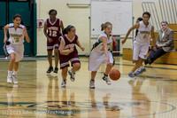 3930 Girls JV Basketball v NW-School 112812