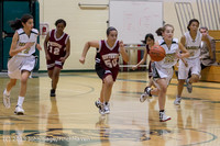 3933 Girls JV Basketball v NW-School 112812