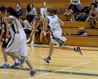 3961 Girls JV Basketball v NW-School 112812