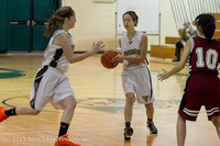 4004 Girls JV Basketball v NW-School 112812