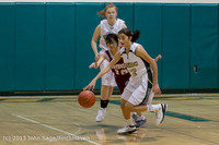 4023 Girls JV Basketball v NW-School 112812