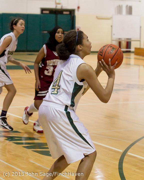 4120 Girls JV Basketball v NW-School 112812