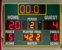 4181 Girls JV Basketball v NW-School 112812
