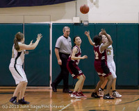 4260 Girls JV Basketball v NW-School 112812