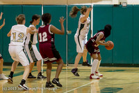 4422 Girls JV Basketball v NW-School 112812
