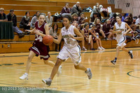 4953 Girls JV Basketball v NW-School 112812