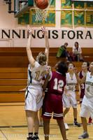 5100 Girls JV Basketball v NW-School 112812