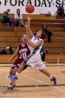 5150 Girls JV Basketball v NW-School 112812