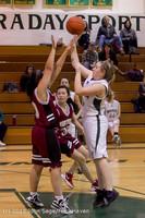 5190 Girls JV Basketball v NW-School 112812