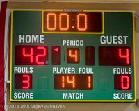 5201 Girls JV Basketball v NW-School 112812